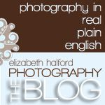Blog for photographers breaking it down in 'real.plain.english'. Shooting, business, sales - Elizabeth Halford covers it all!