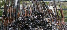 FENAPEF - Polícia Federal de Santarém recolhe 207 armas em 5 anos de campanha
