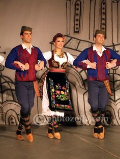 Serbian folk costume from Sumadija ( central Serbia )