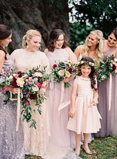 04132fff89f Sarah Beth   Chris    Louisiana Wedding    Donna Morgan Collection     Bridesmaid