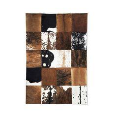 """Atacama // Brown + Black + White (4'7""""L x 6'7""""W)"""