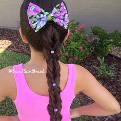 Fishtail Wrap Ponytail  hairstyle inspired by @hair4myprincess  peinados  ponytail