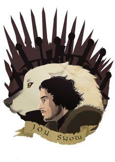 Jon Snow - Game of Thrones - pixonsalvaje.deviantart.com