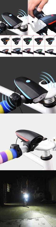 lumière de vélo LED corne électrique  ... Oumers Bicycle Police Sound Light