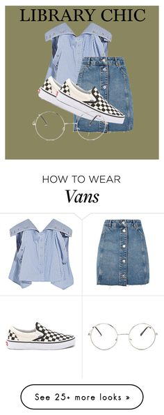 """Untitled #88"" by fatherall on Polyvore featuring Y/Project, Topshop, Vans and Nasty Gal"