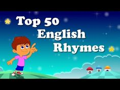 Top 50 Hit Songs - English Nursery Rhymes - Collection Of Animated Rhymes For Kids - YouTube