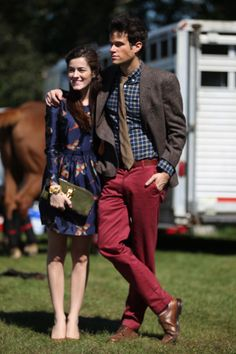 Classy Girls Wear Pearls: Cavison- Harvard Vs. Cornell Autumn Polo Match