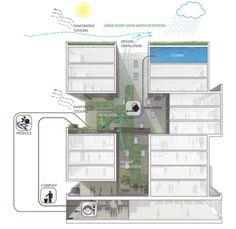 60 Richmond Street East Housing Co-operative in Toronto - Teeple Architects - Food Urbanism, Dani Alexander
