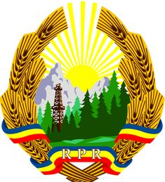 Coat of arms of the Popular Republic of Romania Socialism, Soviet Union, Countries Of The World, Coat Of Arms, Herb, Barista, Nostalgia, Symbols, 1 Decembrie
