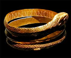 Snake bracelet, Pompeii (saw this on the history channel when they did a special)