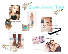 """""""Summer Accessory Trends"""" by trust-in-tricia on Polyvore featuring Dorothy Perkins, Leslie Danzis, Lizzie Fortunato, GUESS and Eloquii"""