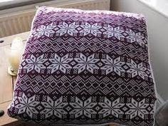 fair isle cushion