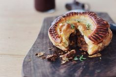 SLOW-COOKED BEEF + BEER PITHIVIERS