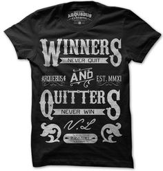 WINNERS NEVER QUIT-BLK