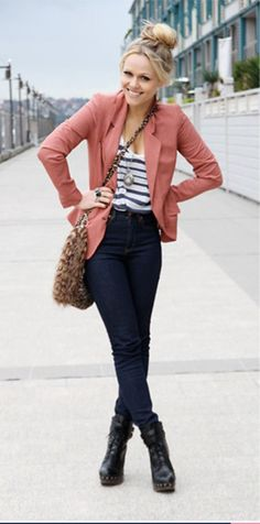 Must have: blazer....or the whole outfit actually