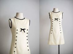 60s dress / 1960s mod shift dress / Lulu mini by VacationVintage, $84.00