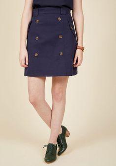Down to Business Trench Skirt | Mod Retro Vintage Skirts | ModCloth.com