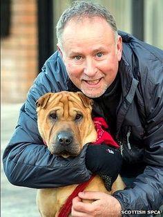 Dog Abandoned at Scotland Train Station Gets Adopted