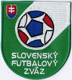 Slovakia National Football Team FIFA Soccer Badge Patch
