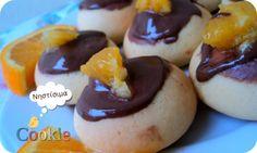 Νηστίσιμα κουλουράκια με πορτοκάλι και επικάλυψη ταχίνι με κακάο - Cookle IT