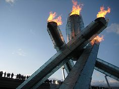 2010 Winter Olympics Torch lit for Vancouver
