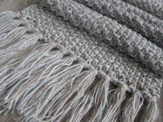 Modèle facile et rapide à tricoter! Réaliser un châle magnifique au tricot.