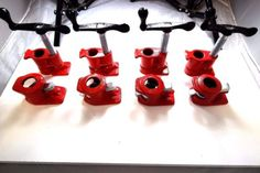4-Pack-3-4-Wood-Gluing-Pipe-Clamp-Set-Heavy-Duty-PRO-Woodworking-Cast-Iron