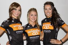 Laura Trott, Dani King, Joanna Rowsell and Elinor Barker to rejoin their Wiggle Honda team mates on the road next week Track Cycling, Cycling News, Cycling Girls, Dani King, Cycling Weekly, Cycle Chic, Olympic Champion, Sports Photos, Bicycles