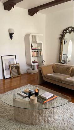 Dream Home Design, Home Interior Design, Interior Architecture, House Design, Aesthetic Room Decor, House Rooms, Home And Living, Living Room, Home Decor