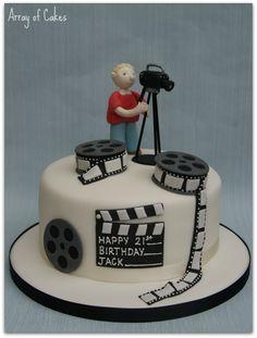 tv camera cake - Google Search