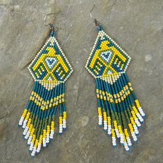 Thunderbird Native American Style Seed Bead by Anabel27shop