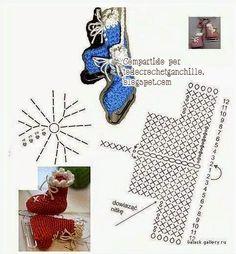 Todo crochet: Amigurumi: Patín para hielo