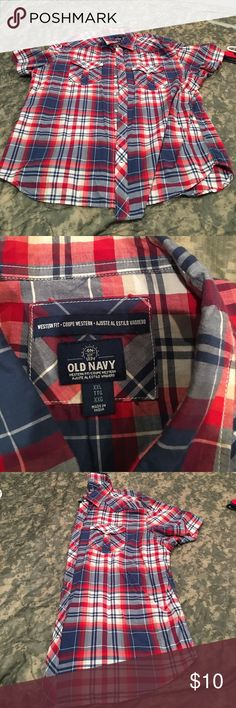 Men's western cut old navy button down NWOT men's xxl old navy western cut button down Old Navy Shirts Casual Button Down Shirts