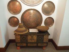 Mandoos box at Bait Zubair museum, Muscat, Sultanate of Oman