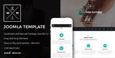 WM One Page Multi-Purpose Joomla Template