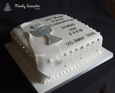 Communion cake by Mandy Kamester Cakes, via Flickr