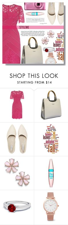 """""""styleWe 4"""" by fashion-pol ❤ liked on Polyvore featuring Maybelline and Larsson & Jennings"""