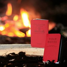 Field Notes new red notebooks