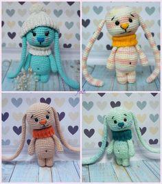 Crochet Amigurumi Long Ear Bunny Free Pattern