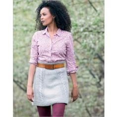 Knit skirt pattern, link to site to purchase pattern