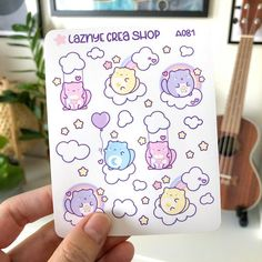 Care Cats Stickers – LaznyeCreaShop Journal Stickers, Planner Stickers, Vinyl Sticker Paper, Cute Planner, Cat Stickers, Rainbow, Cats, Rain Bow, Rainbows