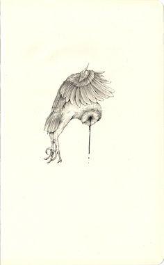 owl study on moleskin 2016 Andi Soto