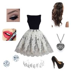 """""""Candor"""" by gracie-k-sterrett on Polyvore featuring Christian Louboutin, Fiebiger and Bling Jewelry"""