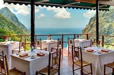 Dasheene at Ladera in St Lucia - 10 restaurants with jaw-dropping views