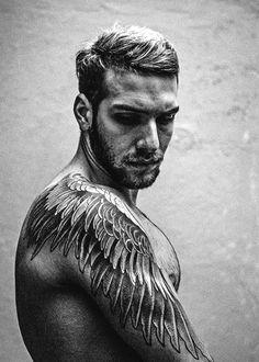 Tattoos Wings On Men