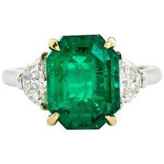 4.31 Carat Colombian Emerald