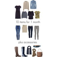 10 items for 1 month