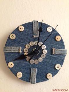 Orologio di jeans