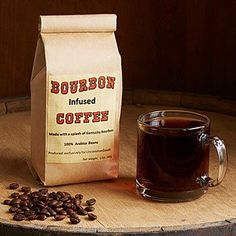 Bourbon Infused Coffee | Specialty Coffee Gift | UncommonGoods #coffeegifts