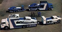 Ford's 1969 Drag Team